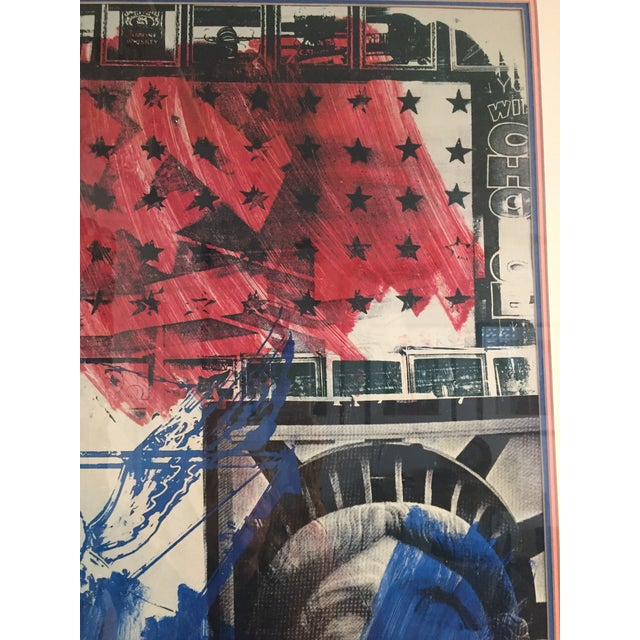 """People for the American Way"" Rauschenberg Signed Print For Sale - Image 9 of 11"
