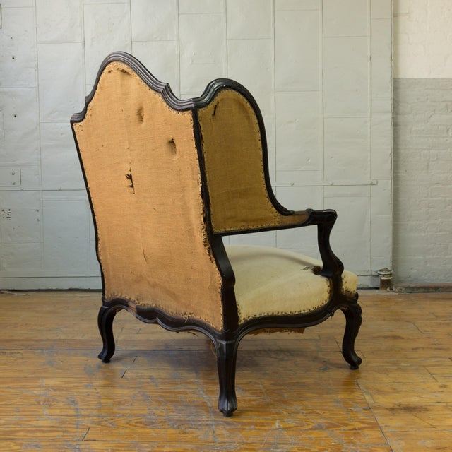 Unusual French, 19th Century Napoleon III Winged Bergere - Image 4 of 12
