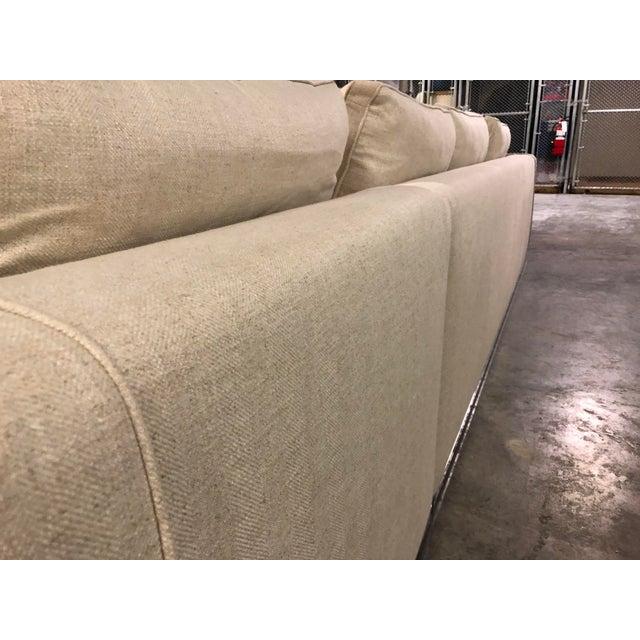 Maxalto Maxalto Omnia Sectional Sofa-Extra Long For Sale - Image 4 of 13