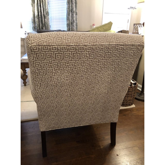 Traditional Custom Sam Moore Accent Chairs- A Pair For Sale - Image 3 of 7