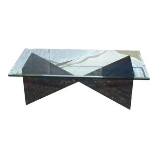 Paul Evans Brutalist Coffee Table for Directional For Sale