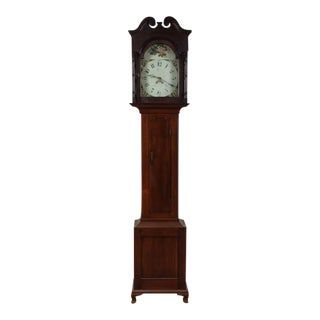 Antique Pennsylvania Chippendale Grandfather Clock