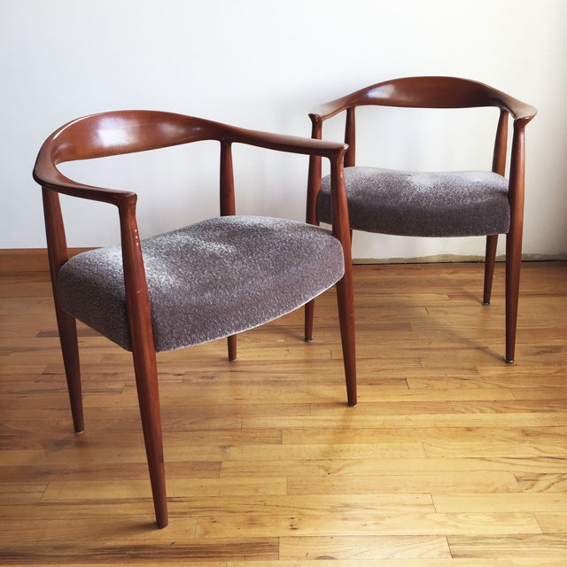 1970s Hans Wegner Kennedy Round Chairs - A Pair - Image 2 of 10