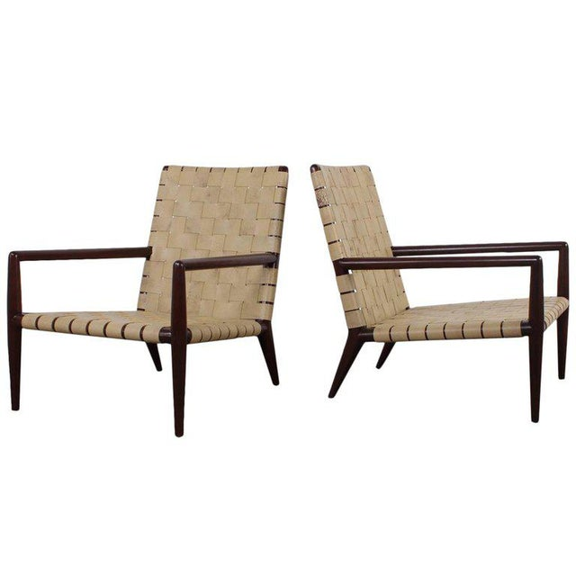 Pair of Lounge Chairs by T.H. Robsjohn-Gibbings For Sale - Image 11 of 11