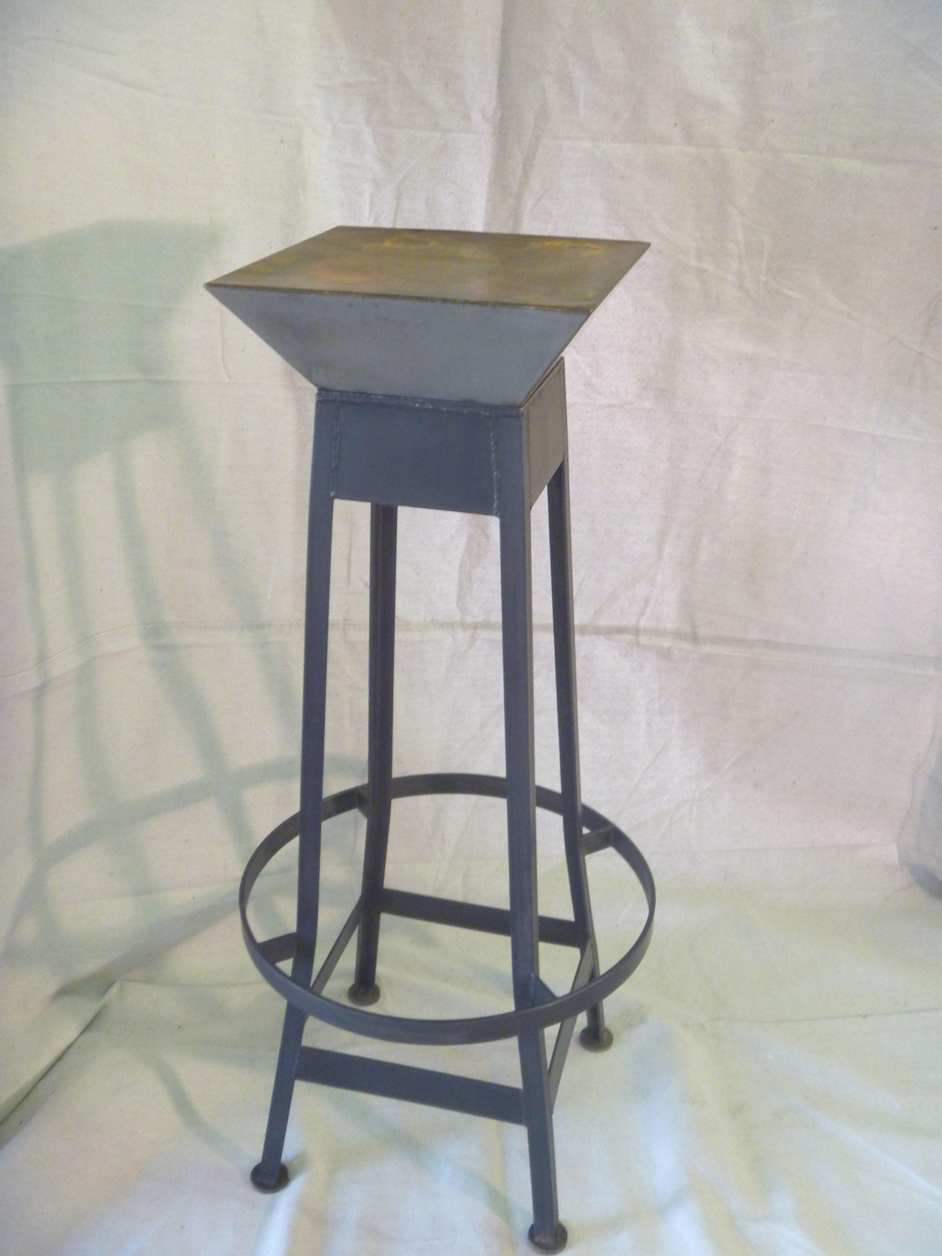 Eiffel Steel Bar Stool Chairish