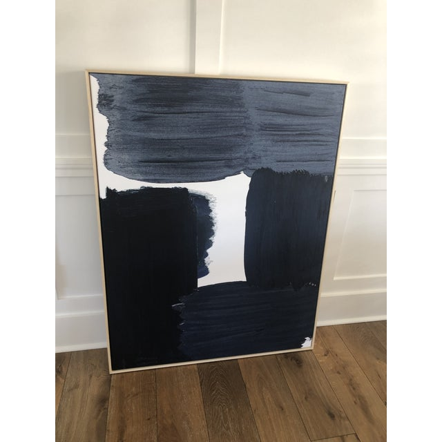 "Abstract ""Navy Swatch"" Art by McGee and Co For Sale - Image 3 of 6"