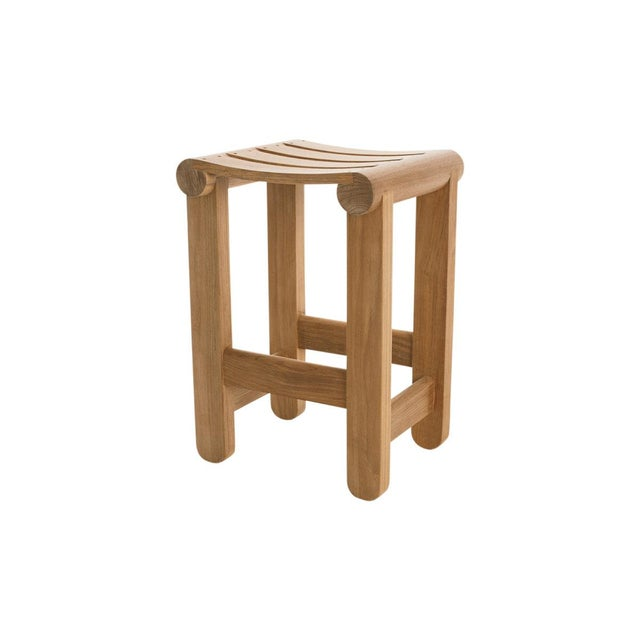 Contemporary Summit Furniture Aperature Bar Stool For Sale - Image 3 of 3