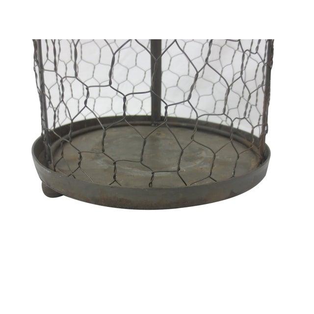 Caged Bird Pillar Candle Holder - Image 3 of 3