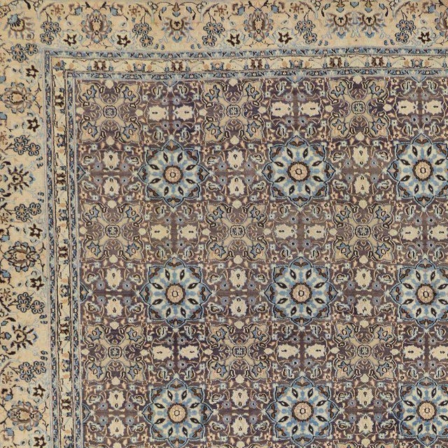 Vintage Persian Moud Mood Rug For Sale - Image 4 of 9