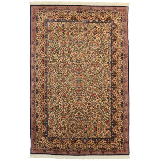 RugsinDallas Fine Weave Hand Knotted Chinese Rug - 6' X 9' For Sale