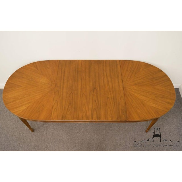 "20th Century Traditional Drexel Ponte Vecchi Collection 92"" Dining Table For Sale - Image 9 of 11"