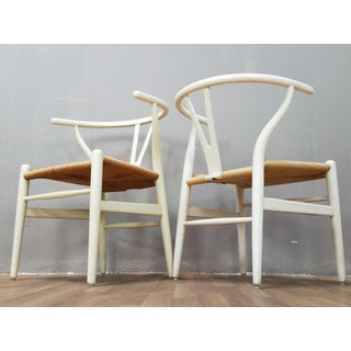 Mid-Century Danish Hans Wegner Wishbone Chairs - A Pair Preview