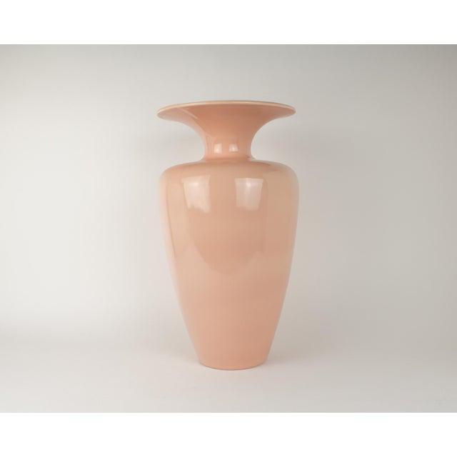 Vintage Monumental Blush Haeger Vase Chairish