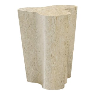 Orgo Large Occasional Table, Fossil Stone For Sale
