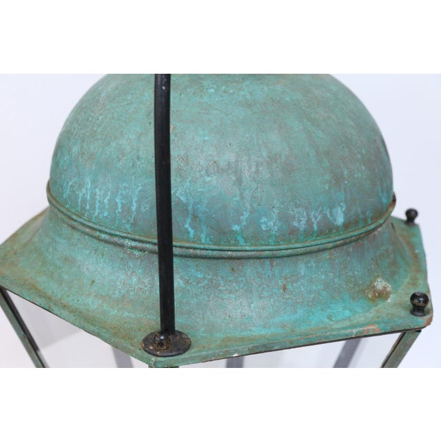 Large Early 20th Century Avignon Lantern For Sale In Houston - Image 6 of 7