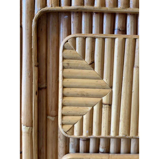 Rattan Nightstand For Sale - Image 10 of 12
