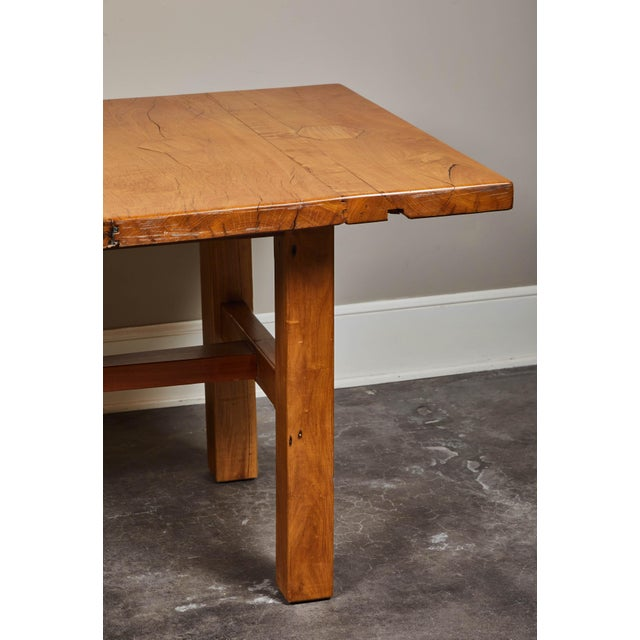 Mid 19th Century Rare 19th Century Solid Molave Wood Table For Sale - Image 5 of 10