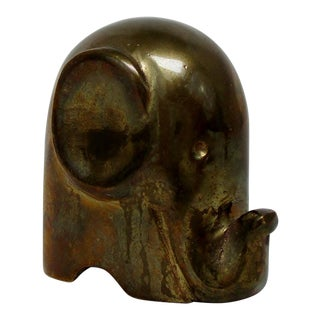 Mini Brass Elephant For Sale