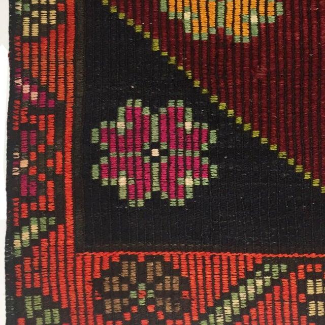 Vintage Cicim Kilim | 6'7 x 9'2 Turkish Flatweave - Image 3 of 3