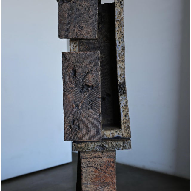 Wood Tim Keenan Large Scale Ceramic Sculpture For Sale - Image 7 of 13