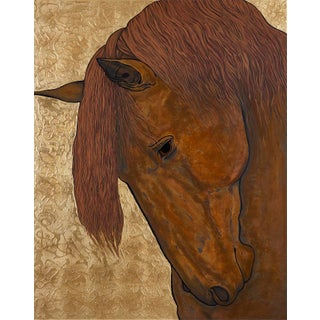 Horse Head Contemporary Limited Edition Archival Fine Art Print For Sale