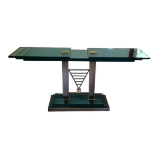 Design Institute of American Steel & Glass Console