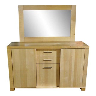 Mid-Century Modern Bermex Birch Modern Dining Sideboard For Sale