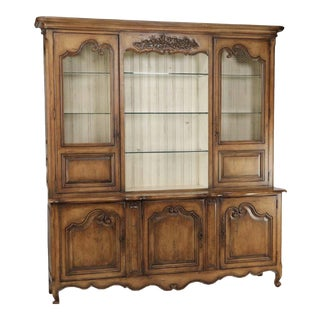 French Provincial Habersham Biltmore Display Cabinet For Sale