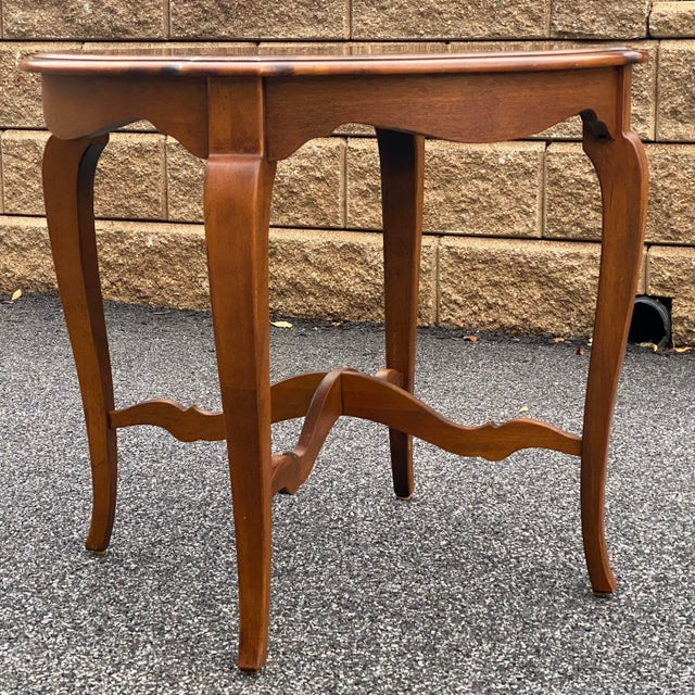 Ethan Allen Ethan Allen Country French Side Table For Sale - Image 4 of 12