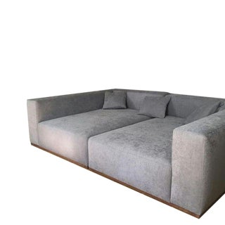 "Custom to Order ""Slant Formation"" Collection Sofa For Sale"