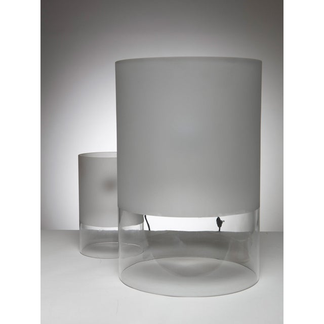 """1970s Pair of """"Fatua"""" Table Lamps by Guido Rosati for Fontana Arte For Sale - Image 5 of 5"""