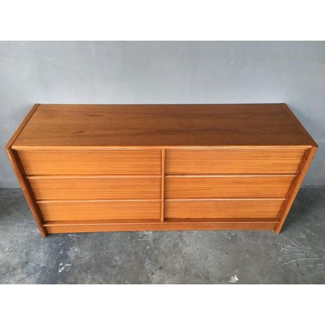 Jesper Teak Danish Modern Dresser For Sale - Image 5 of 7