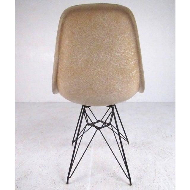 Herman Miller Vintage Charles Eames Eiffel Tower Fiberglass Side Chairs for Herman Miller For Sale - Image 4 of 11