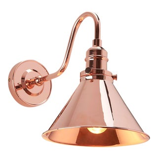 Provence Sconce Polished Copper