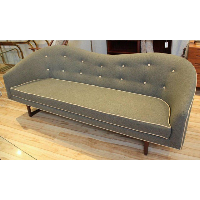 1960s Camelback Sofa For Sale - Image 9 of 9