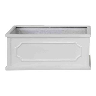 Andover Window Box, Small, Glossy White For Sale