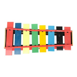 Vintage Tudor Brand Xylophone Toy For Sale