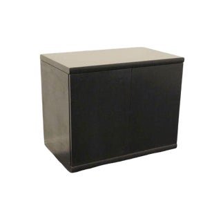20th Century Contemporary Kimball International Black End Credenza/Console For Sale
