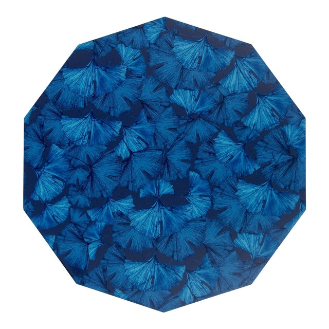 Ginko Placemat in Blue For Sale