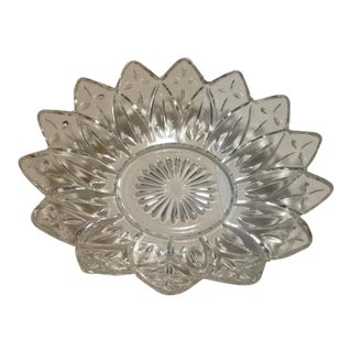 Mid-Century Glass Bowl For Sale