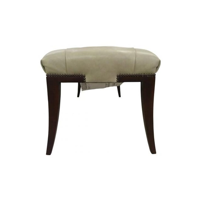 Art Deco Adam Bench by Thomas Pheasant for Baker For Sale - Image 3 of 4