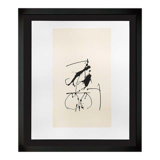 Robert Motherwell Lithograph Original Ltd Ed + Cat. Ref. B387.10 With Frame Included For Sale