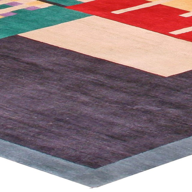 2010s Deco Inspired Tibetan Rug- 18'3'' X 11' Ft For Sale - Image 5 of 7