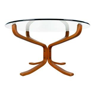 Scandinavian Vatne Møbler 'Falcon' Coffee Table by Sigurd Ressel For Sale