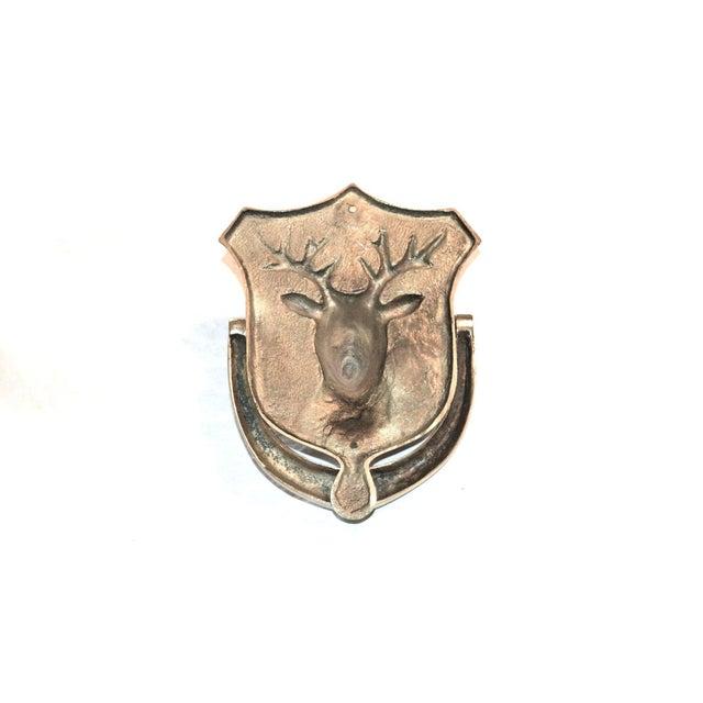 Stag Brass Door Knocker - Image 7 of 10