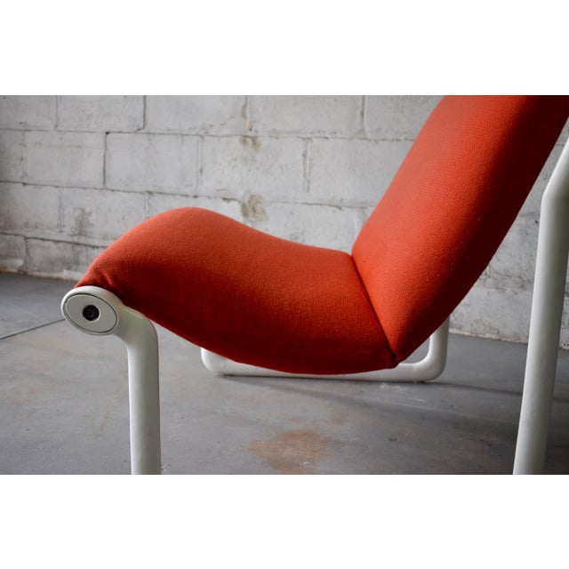 Hannah & Morrison for Knoll Mid Century Modern Sling Lounge Chair For Sale - Image 9 of 13