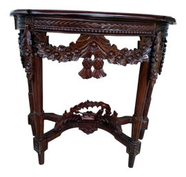 Image of Hollywood Regency Demi-lune Tables