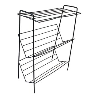 Mid-Century Modern Wire Bookcase For Sale