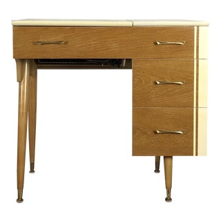 Ward Furniture Co. Mid-Century Modern Sewing Desk
