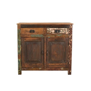 Wooden Two Door Cabinet